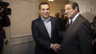 Για τις εξελίξεις στην κυπριακή ΑΟΖ συζήτησαν Τσίπρας - Αναστασιάδης