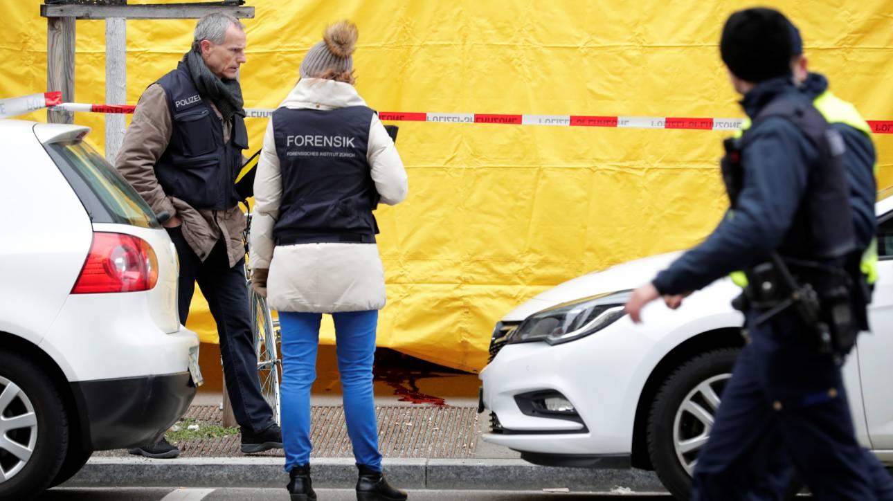 Πυροβολισμοί Ζυρίχη: Για προσωπικές διαφορές κάνει λόγο η αστυνομία