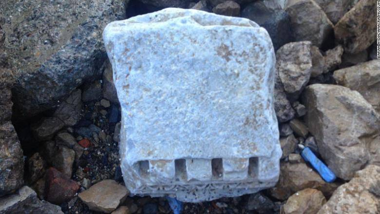 Ερείπια αρχαίας ρωμαϊκής πόλης ξεβράστηκαν στις τουρκικές ακτές της Μαύρης Θάλασσας