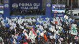 Χιλιάδες διαδηλωτές στους δρόμους της Ιταλίας