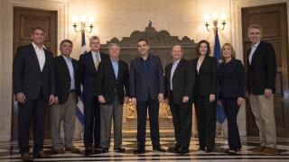 Συνάντηση Αλέξη Τσίπρα με αντιπροσωπεία του αμερικανικού Κογκρέσου