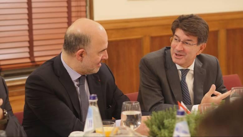 Στήριξη θεσμών και Μοσκοβισί για τις επενδύσεις ζητά ο ΣΕΒ