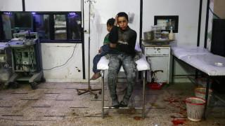 Σφοδρές μάχες στην Ανατολική Γκούτα - Επικοινωνία Μέρκελ, Πούτιν, Μακρόν για τη Συρία