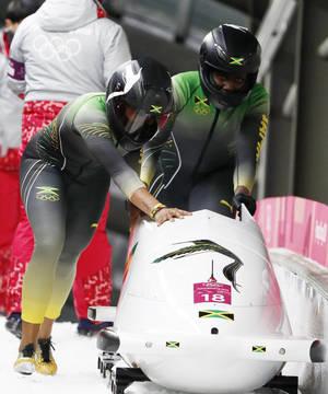 Το ντεμπούτο της σε Ολυμπιακούς Αγώνες έκανε η γυναικεία ομάδα της Τζαμάικα στο μπομπσλέι.