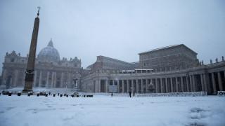 Χιόνια στη Ρώμη