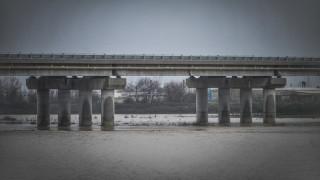 «Φούσκωσε» ο Πηνειός ποταμός λόγω βροχόπτωσης