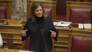 ΔΗΜΑΡ: Η παραίτηση της Αντωνοπούλου είναι θέμα ηθικής τάξης
