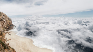 Ο κόσμος αλλιώς: χαθείτε στη θάλασσα από σύννεφα του Λοράν Ροσέ