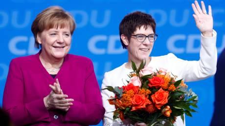 Η Ανεγκρέτ Κραμπ-Καρεμπάουερ είναι η νέα γ.γ. του CDU