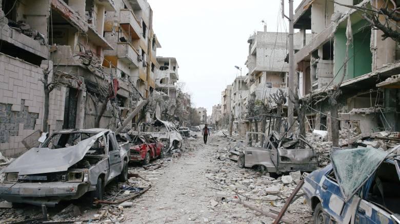 Απομάκρυνση αμάχων από την Ανατολική Γκούτα και 5ωρη κατάπαυση του πυρός αποφάσισαν Μόσχα - Δαμασκός