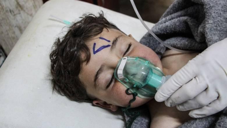 ΟΗΕ: Η Βόρεια Κορέα προμηθεύει τη Συρία με υλικά για την κατασκευή χημικών όπλων