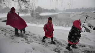 Κίνα: Κίτρινος συναγερμός ενόψει σφοδρής χιονοθύελλας