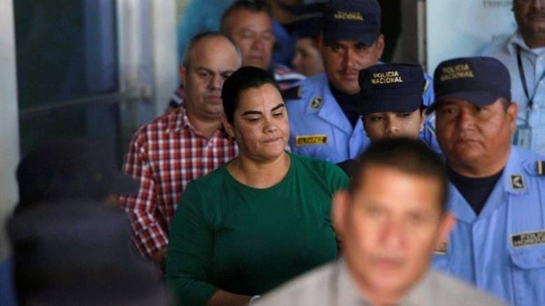 Ονδούρα: Συνελήφθη η πρώην πρώτη κυρία για κατάχρηση εκατομμυρίων