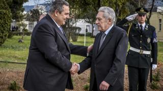 Κουβέλης: Γνωρίζω ότι όλοι σε αυτό το υπουργείο προτάσσουν το εθνικό συμφέρον