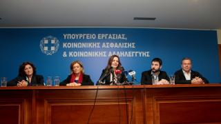 Αχτσιόγλου: Ο Ηλιόπουλος παίρνει τη σκυτάλη για να συνεχίσει τη μάχη για την ενίσχυση της εργασίας
