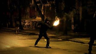 Μολότοφ και επεισόδια στην Πάτρα από αντιεξουσιαστές