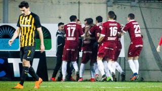 Κύπελλο Ελλάδας: Η Λάρισα πήρε προβάδισμα πρόκρισης στο 92'