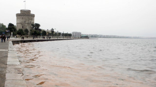 Μικρής έκτασης θαλάσσια ρύπανση εντοπίστηκε στον Θερμαϊκό