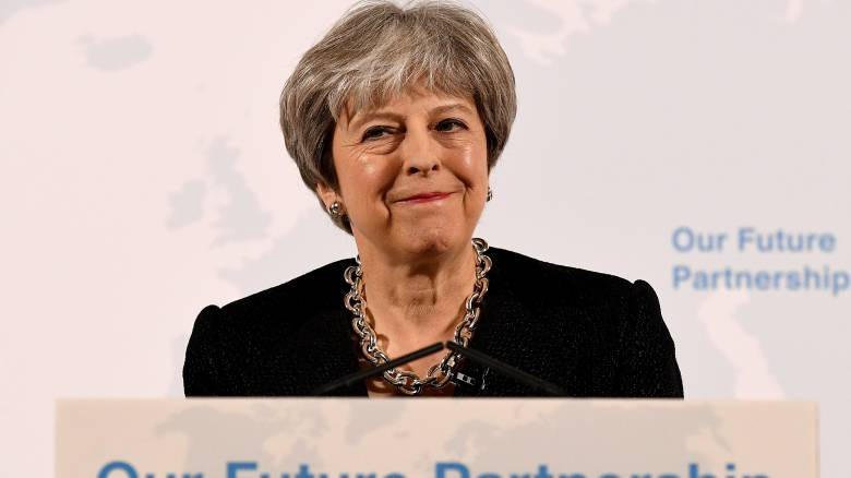 Brexit: Η Τερέζα Μέι παρουσίασε το όραμά της