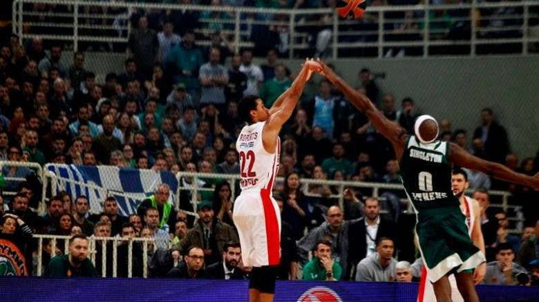 Euroleague: Νίκη του Ολυμπιακού επί του Παναθηναϊκού στο ΟΑΚΑ (vids)