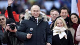 Υποσχέσεις Πούτιν για ένα «λαμπρό μέλλον» πριν τις προεδρικές εκλογές