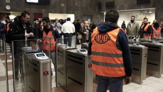 Έκλεισαν οι μπάρες στο μετρό Συντάγματος - Πότε θα «πέσουν» οι υπόλοιπες