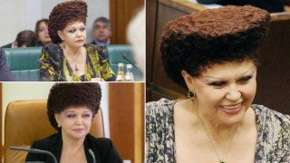 Αυτή η Ρωσίδα πολιτικός έχει το πιο… ιδιαίτερο χτένισμα!