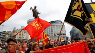 Νέα διαδήλωση στα Σκόπια κατά της αλλαγής του ονόματος