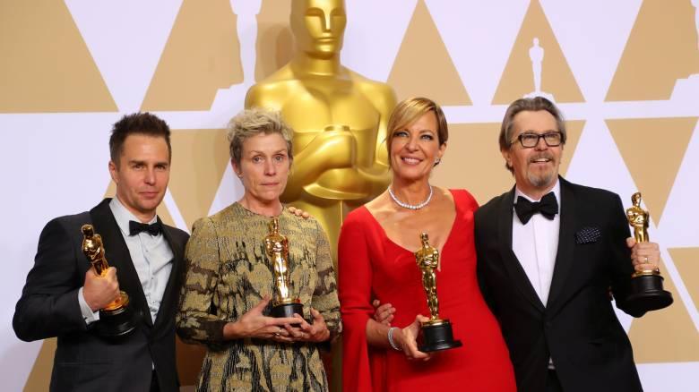 Όσκαρ 2018: Τα κορυφαία βραβεία της βραδιάς