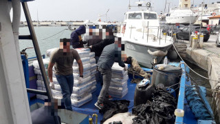 Απαγγέλθηκαν κατηγορίες στο πλήρωμα του αλιευτικού με τους 1,3 τόνους κάνναβης