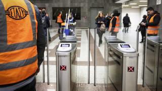 Έκλεισαν οι μπάρες στο μετρό Συντάγματος - Ποιοι σταθμοί ακολουθούν