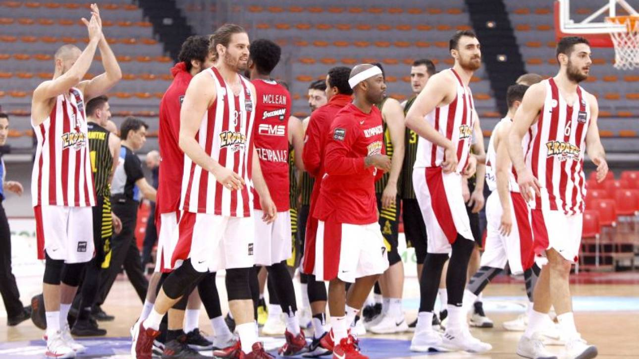 Basket League: Εύκολη νίκη του Ολυμπιακού επί του Άρη (pics)