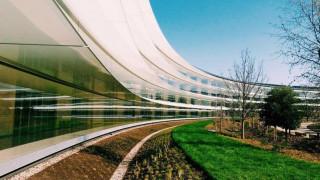 Το νέο γυάλινο κτήριο της Apple στην Καλιφόρνια μετρά... τραυματίες