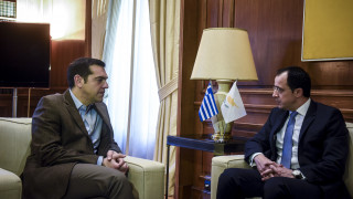 Για τις εντεινόμενες τουρκικές προκλήσεις στην Κύπρο συζήτησαν Τσίπρας-Χριστοδουλίδης