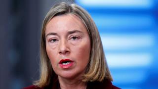 Μήνυμα Μογκερίνι: H Τουρκία να αποφεύγει κάθε είδους προστριβή ή απειλή εναντίον κράτους-μέλους