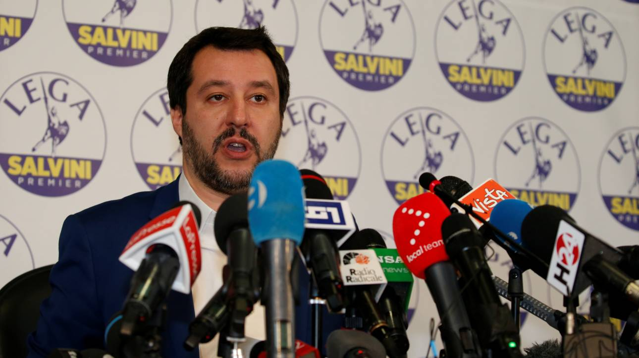 Σαλβίνι για την παραίτηση Ρέντσι: Είναι θύμα της αλαζονείας του