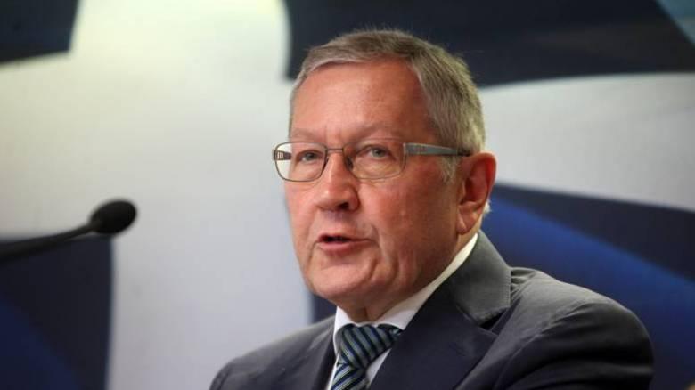 Κλάους Ρέγκλινγκ: Δεν θα χρειαστούν επιπρόσθετα δημοσιονομικά μέτρα