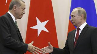 Πούτιν και Ερντογάν συζήτησαν για τις εξελίξεις στην Ανατολική Γκούτα και στην Αφρίν
