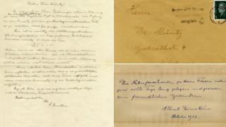 Δημοπρατήθηκαν προσωπικές επιστολές του Άλμπερτ Αϊνστάιν