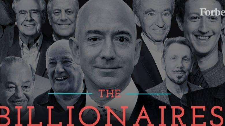 Forbes: Αυτοί είναι οι πλουσιότεροι άνθρωποι του πλανήτη