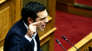 Στη Βουλή ο Τσίπρας για την πρόταση της ΝΔ για προανακριτική