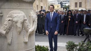 Μητσοτάκης από τη Ρόδο: Ψυχραιμία και εμπιστοσύνη στις δυνατότητες της Ελλάδας