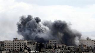 Βροχή οι βόμβες στη Γκούτα - όλα ...καλά τα βρήκαν στη Συρία Γερμανοί βουλευτές του ακροδεξιού ΑfD