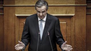 Άρθρο του Σαμαρά στους FT: O ΣΥΡΙΖΑ υπονομεύει τη Δημοκρατία