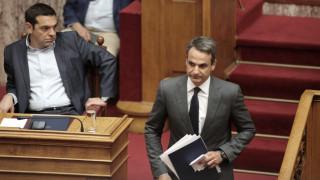 Σκληρό «ροκ» μεταξύ Τσίπρα - Μητσοτάκη για την εξωτερική πολιτική