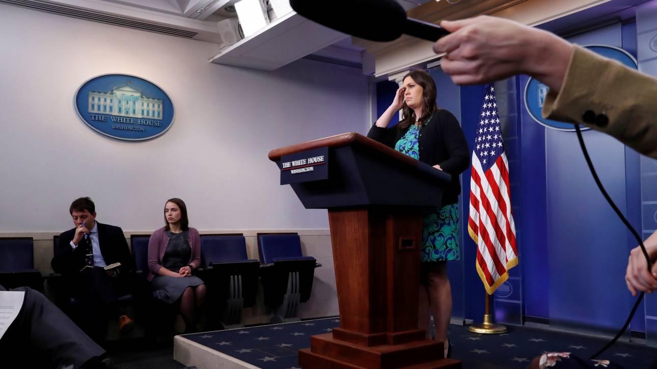 Λευκός Οίκος: Καμία συνάντηση Τραμπ με τον Κιμ Γιονγκ Ουν πριν γίνουν συγκεκριμένα βήματα