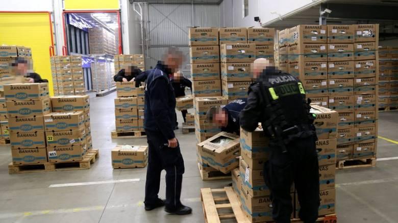 Κολομβία: 1,5 τόνος κοκαΐνης «κρυβόταν» σε φορτίο με μπανάνες με προορισμό το Βέλγιο