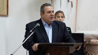 Καμμένος: Η Ελλάδα είναι πολύ κοντά σε ένα θανατηφόρο ατύχημα με την Τουρκία