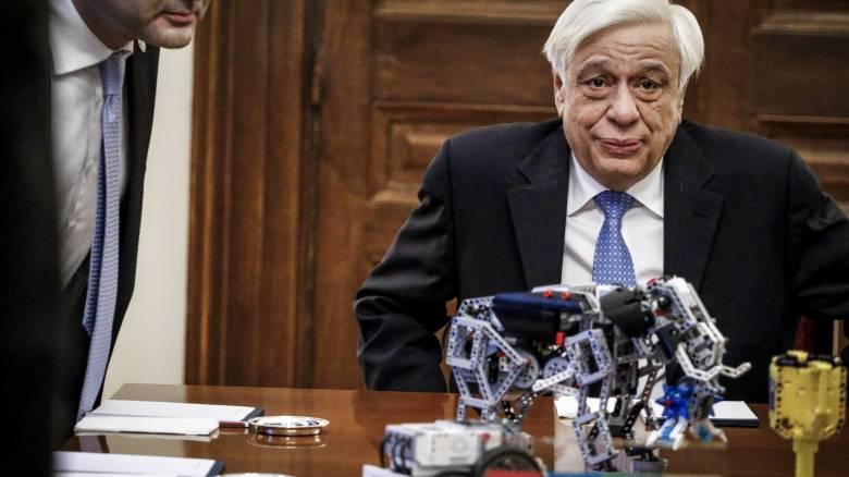 Παυλόπουλος: Στο ταλέντο της νέας γενιάς μπορούμε να χτίσουμε την Ελλάδα του 21ου αιώνα