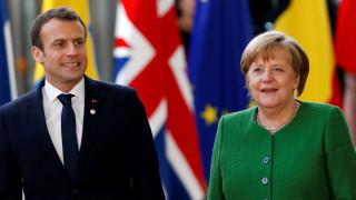Spiegel: Μέρκελ και Μακρόν αναβάλλουν την παρουσίαση του σχεδίου μεταρρύθμισης της ευρωζώνης
